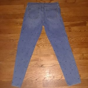 Star-Spangled Gap Skinny Jeans